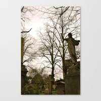 brompton Canvas Prints featuring West Brompton Cemetary in London by Beeobe