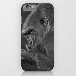 Gorilla Asante Mono iPhone Case