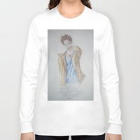 jared leto Long Sleeve T-shirts featuring Jared leto by TheArtOfFaithAsylum
