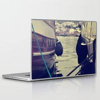 sailing Laptop & iPad Skins featuring sailing by gzm_guvenc