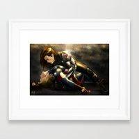 stucky Framed Art Prints featuring Stucky by Pain-Art