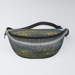 Forest Reflection of Ponderosa Pines Fanny Pack