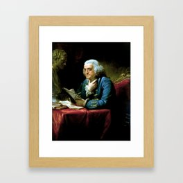 Ben Franklin Framed Art Print