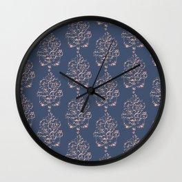 Being romantic dark Wall Clock