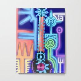 Keyblade Guitar #43 - Photon Debugger Metal Print