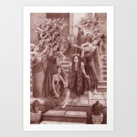 A Symphony for Persephone Art Print