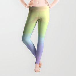Rainbow. Soft rainbow pearl prism. Leggings