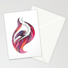 Gazing Out The Window Stationery Cards