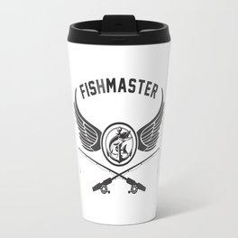Fishmaster Fishing Badge Travel Mug