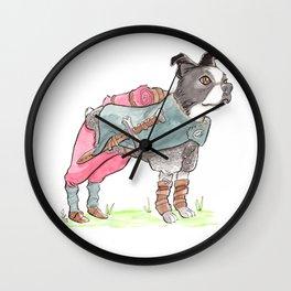 DogDays19 Vinny Wall Clock
