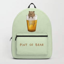 Pint of Bear Backpack
