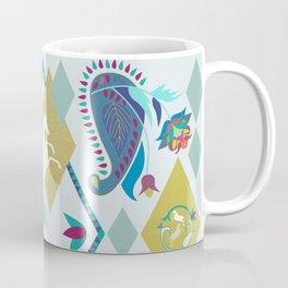 Paisley and Horse Coffee Mug