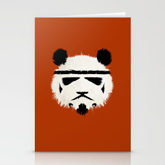 Panda Trooper Stationery Cards
