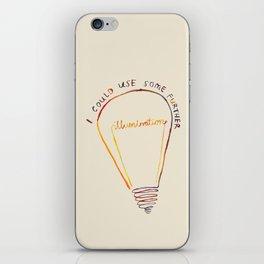Lizzie Bennet #1 iPhone Skin