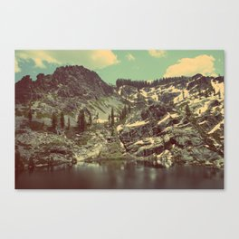 high sierras  Canvas Print