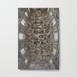 Sistine Chapel  Metal Print