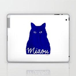 MIAOU bleu Laptop & iPad Skin