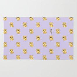 Hachikō, the legendary dog pattern Rug