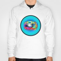 dolphins Hoodies featuring Dolphins by JT Digital Art