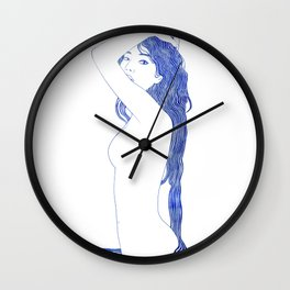 Nereid XLIV Wall Clock