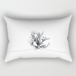 Ampersand Shrub by Cheyenne Austin Rectangular Pillow