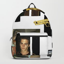 Vintage Sweat With Del Rey and Johny Depp Backpack