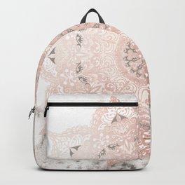 Dreamer Mandal Rose Gold Backpack