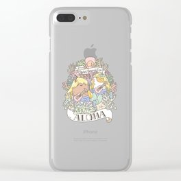Rodent Mermaid Duo Clear iPhone Case