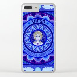 Astrological Sign of Virgo Clear iPhone Case