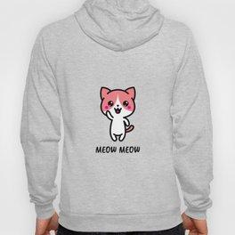 Meow Cat Hoody