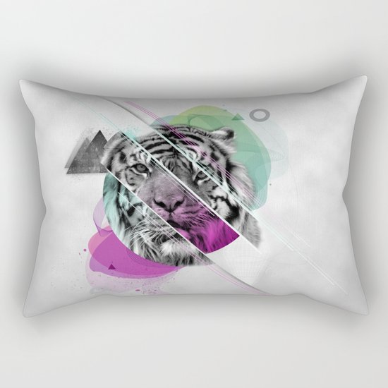 Le tigre Rectangular Pillow