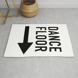 Dance Floor Sign Rug