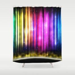 tactus ignis Shower Curtain