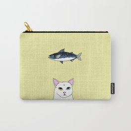 Fat D. Loves Fish Carry-All Pouch