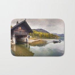 Lake Bohinj Bath Mat