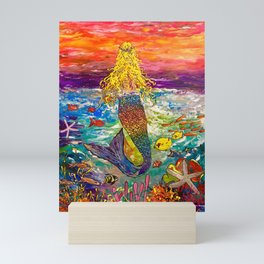 """Sea Treasure"" Mini Art Print"
