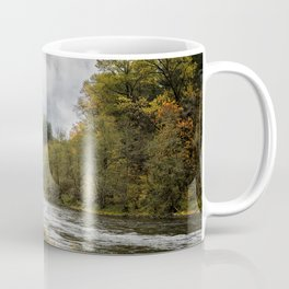 Fall on the McKenzie River Coffee Mug