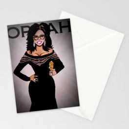 Tribute To Oprah Stationery Cards