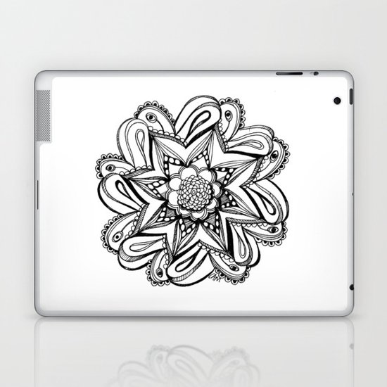 Zendala ornate Laptop & iPad Skin