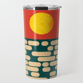 Sun Over The Sea - Afternoon Travel Mug