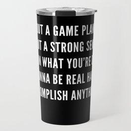 16 | Nipsey Hussle Quotes Travel Mug