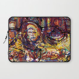 Lady Justice of Los Angeles Laptop Sleeve