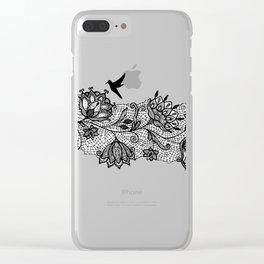 The lace Clear iPhone Case