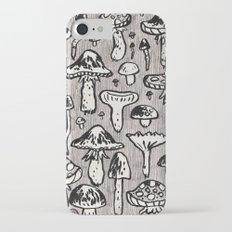mushrooms iPhone 7 Slim Case
