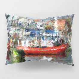 In the harbour Pillow Sham