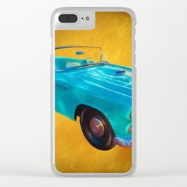 T Bird Clear iPhone Case