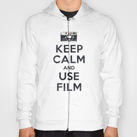 Keep Calm And Use Film Hoody