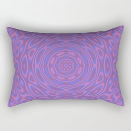 Funky Kaleidoscope Rectangular Pillow