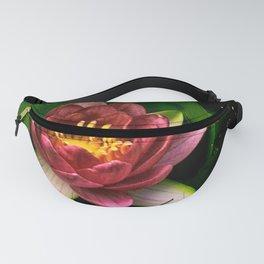 Pink Water Lilly Fanny Pack