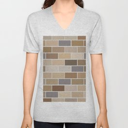 Kinda Brickish Unisex V-Neck